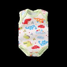 1873f9e38 3pcs/lot Baby Rompers Unisex Sleeveless Baby Onesies Baby Clothes Girl Boy  Baby Rompertjes Katoen