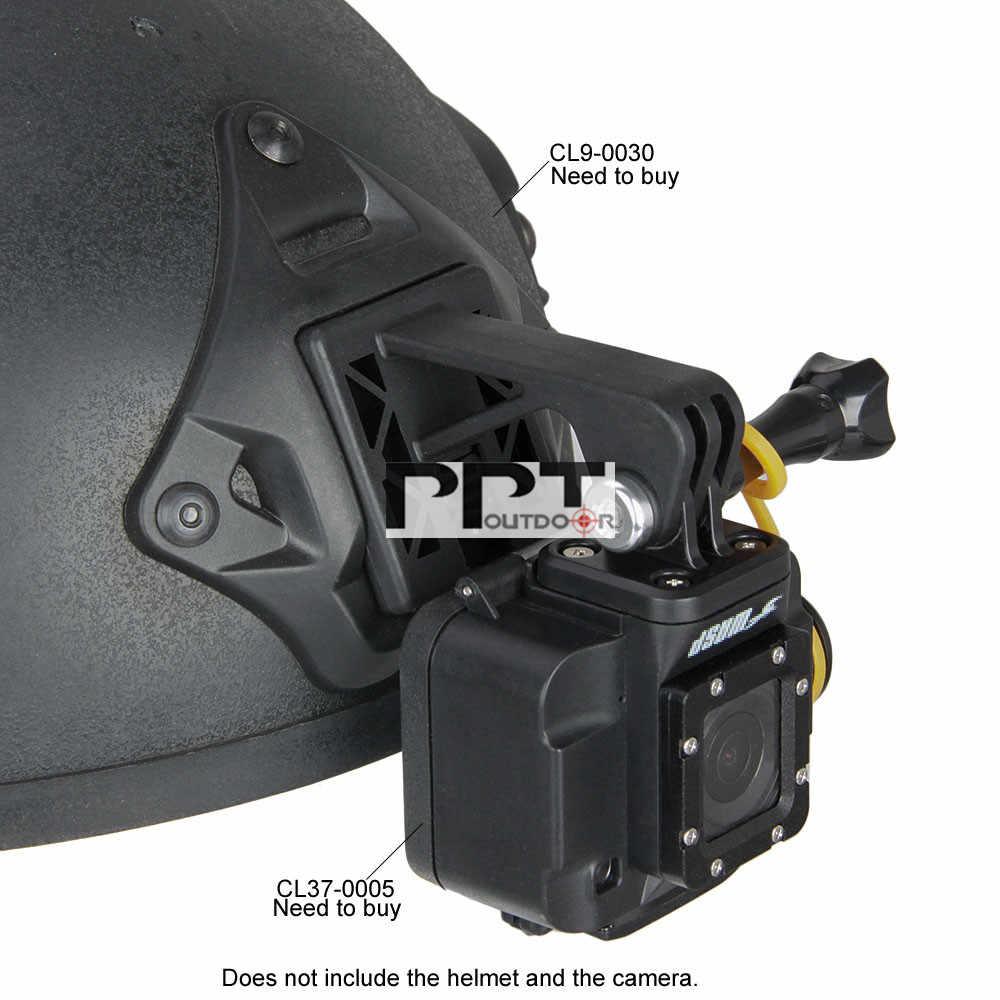 Тактический аксессуар шлем адаптер шлем экскаватор руку для спорта Регистраторы Камера для спорта на открытом воздухе CS Wargame PP33-0200