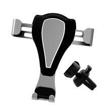 Universal Car Mobile Phone Mount Holder Air Vent Smartphone Bracket Auto-Lock Adjustable Telephone Support