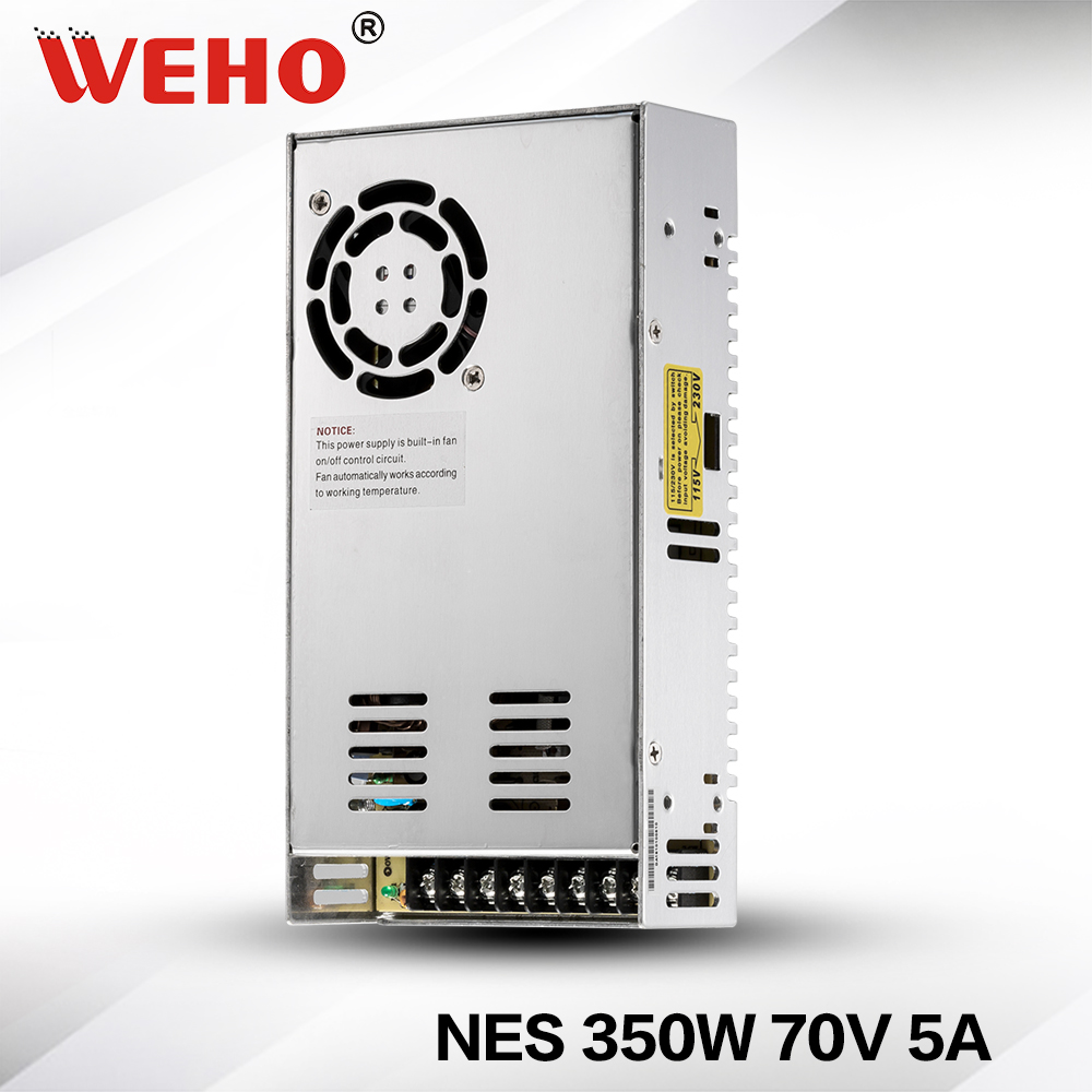 (NES-350-70)high voltage with cooling fan 350w 70v power supply(NES-350-70)high voltage with cooling fan 350w 70v power supply