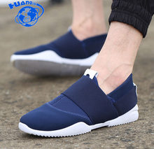 6585daf900201 HUANQIU 2018 New Fashion Sneakers Men Flat Canvas Shoes High Quality Male  Brand Footwear Men s Casual Shoes ZLL335
