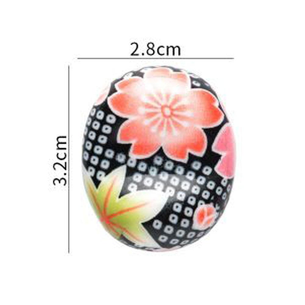 Визуальный сенсорный японский стиль керамические палочки держатель подставка Милая стойка для палочек для еды Подушка Уход отдых кухня Искусство ремесло посуда N - Цвет: Style 2