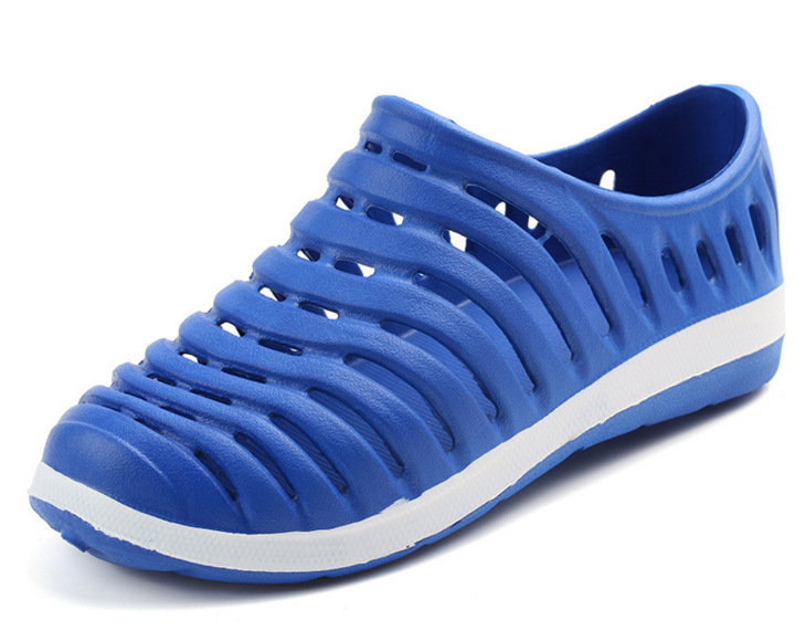Men Outdoor Walking Sandals Hollow EVA Sports Shoes Breathable Summer Non Slip Beach Slippers in Men 39 s Sandals from Shoes