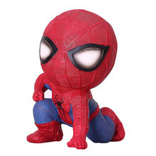 Serviço de Entrega de Kiki Anime Estúdio Spiderman Spiderman Resina Figura de Ação Brinquedos Piggy Bank Money Box Toy Model Collection(China)