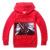 GUERRA ESTRELA com capuz para crianças meninos camisola hoodies para meninas primavera outono crianças roupas meninos hoodies roupas vestidos infantis