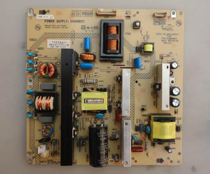 34008021 KIP+L210I12C1 35015965 Original LCD Power Board original konka lc40gs60dc kip l200i12c1 01 35014948 rev 00