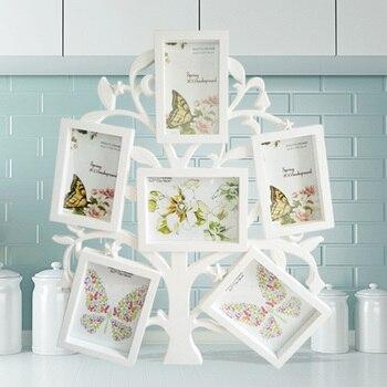 Creative studio simple green plastic photo frame photo wall ornaments Home Furnishing modern personality wall decoration