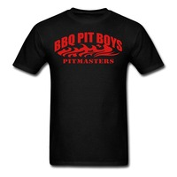 T Shirt New Brand BBQ Pit Boys Pitmasters Men S Summer Style Casual Clothing