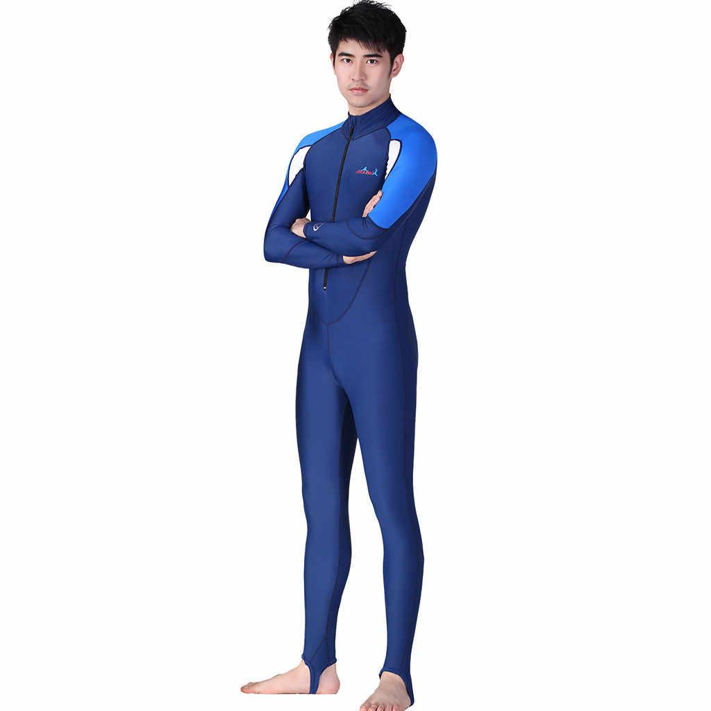 Mannen Huid Dive Paar Pak Jumpsuit Lycra Een Stuk Wetsuit Anti Kwallen Anti-Slippen Voor Zwemmen Duiken Rashguard