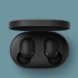 Image 5 - Xiao mi Red mi Airdots TWS słuchawki Bluetooth wersja młodzieżowa Stereo mi mi ni bezprzewodowy zestaw słuchawkowy Bluetooth 5.0 zestaw słuchawkowy z mikrofonem słuchawki douszne