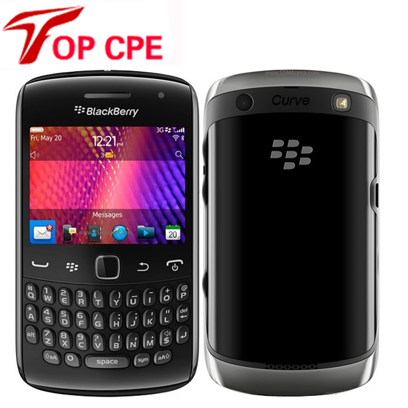 Unlocked BlackBerry Curve 9360 Unlocked Mobile Phone Quad-Band 3G GPS WIFI 5MP