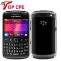Original blackberry curve 9360 abrió el teléfono móvil de banda cuádruple gps wifi 5mp cámara envío gratis