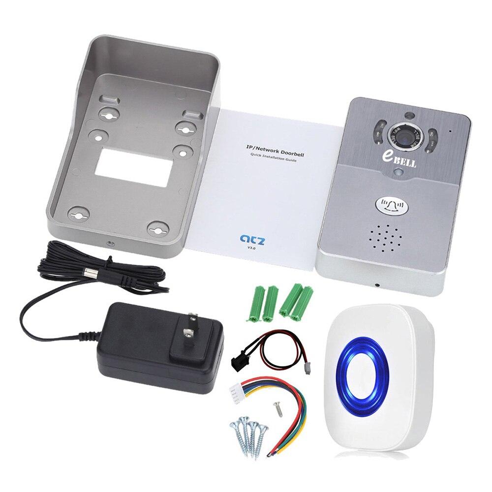 Door Intercom IP Doorbell With 720P Camera Video Phone WIFI Door bell Night Vision IR Motion Detection Alarm for IOS Android-in Video Intercom from Security ...