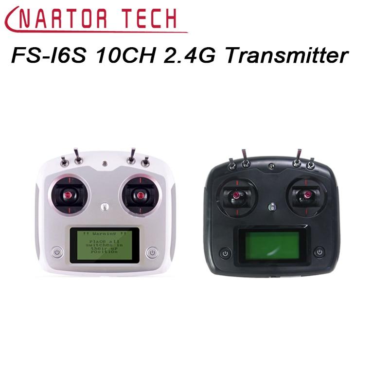 FS-I6S FS I6S Flysky 10CH 2.4G RC Quadcopter Émetteur Contrôleur Ensemble w/Récepteur FS-iA6B ou FS-IA10B
