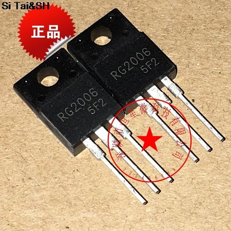 5pcs RG2006 TO-220F RG2006LN TO220 600V 20A New Original