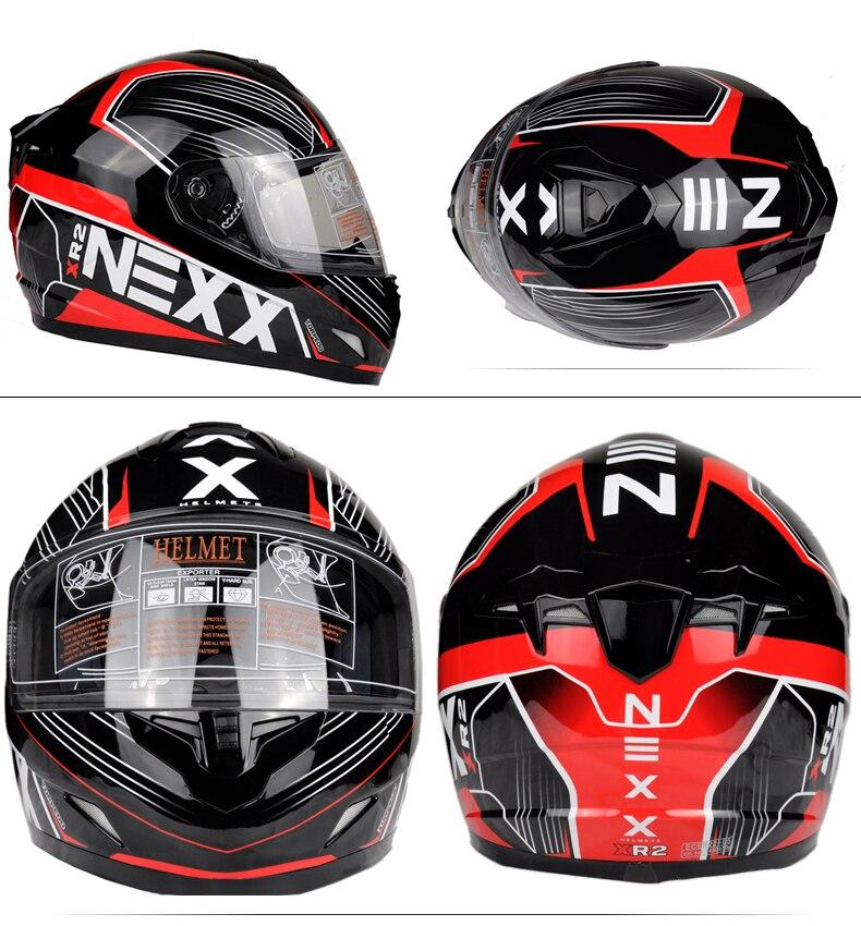 brand nexx Full Face Helmet Casco Moto Capacete Motorcycle Helmet Racing kask Casque Moto Full Face