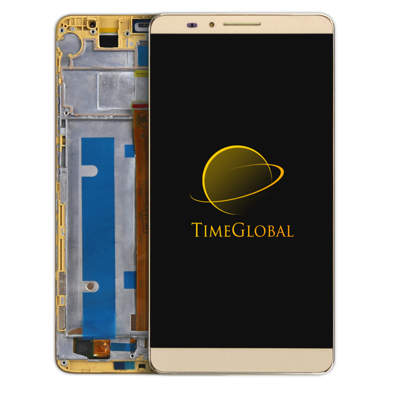 ФОТО  DHL alibaba screen for Huawei Mate 7 LCD Display And Touch Screen With Frame Assembly