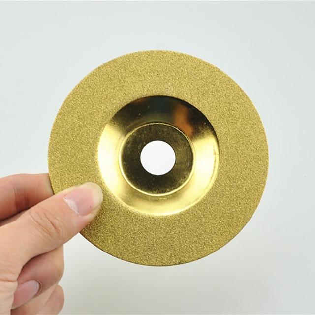 1pcs 4 100mm Diamond Bowl Shaped Cutting Disc Ceramic