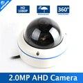 HD de 1.0MP CCTV AHD Cámara Panorámica 1080 P Lente Ojo de Pez 720 P 2MP Cámara DEL CCTV AHD Seguridad Impermeable Al Aire Libre 180/360 grados de Vista
