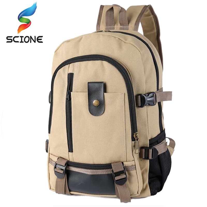 2018 New Arrival Men and Women Outdoor Sports Canvas Backpack Camping Travel Mountaineering Bag Rucksack Bicycle Hiking Bags