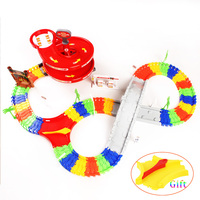 New Style DIY Assembly Set For Kids Education Flex Tracks Fire Car With Bridge And Lane