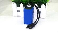 Protect 7.4 V 5200 mAh 8.4 V 18650 Lithium Ion Battery Bike Headlights Special Battery DC 5.5 MM цена и фото