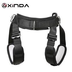 Xinda profissional pendurado wia metade do corpo cinto de segurança suporte cintura alta tensão aérea filme equipamento proteção tiro