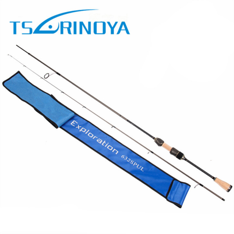 Trulinoya Soft Spinning Rod 1.89m Section 2 Power 30T Carbon Fibre UL Lure 2-8g Line 4-8lb Soft Cork Handle Fishing Tackle trulinoya 2 1m 7 0 soft carbon spinning fishing rod with two tips m mh power fishing tackle
