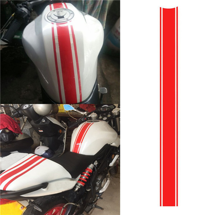 50CM DIY Fuel Tank Sticker Waterproof For Racing Motorcycle Accessories Funny Decoration Sticker Moto Decals