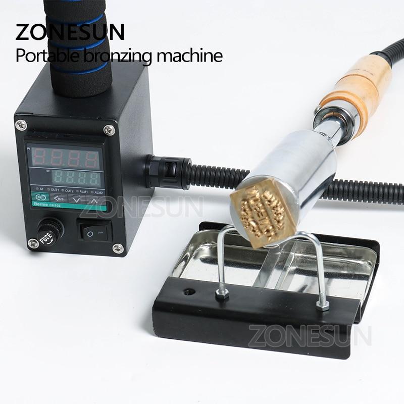 ZONESUN ręczny skórzany drewno papier narzędzie do wytłaczania maszyna do tłoczenia na gorąco tłoczenie na tort weselny Logo brajlowskiej żelazny stempel