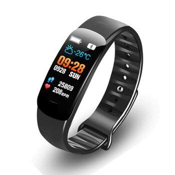 Nadar inteligente banda pantalla a Color de Monitor de ritmo cardíaco de oxígeno en la sangre de presión IP67 inteligente actividad Fitness pulsera reloj