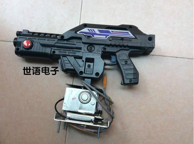 Special game machine gun firepower / Vietnam / game / laser / spear gun haunted children game accessories