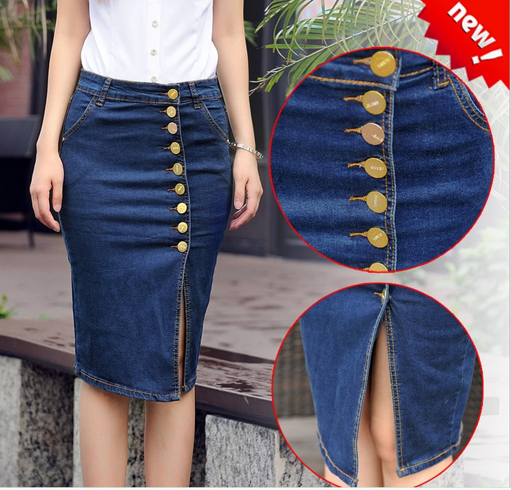 Compare Prices on Denim Skirts for Women- Online Shopping/Buy Low ...