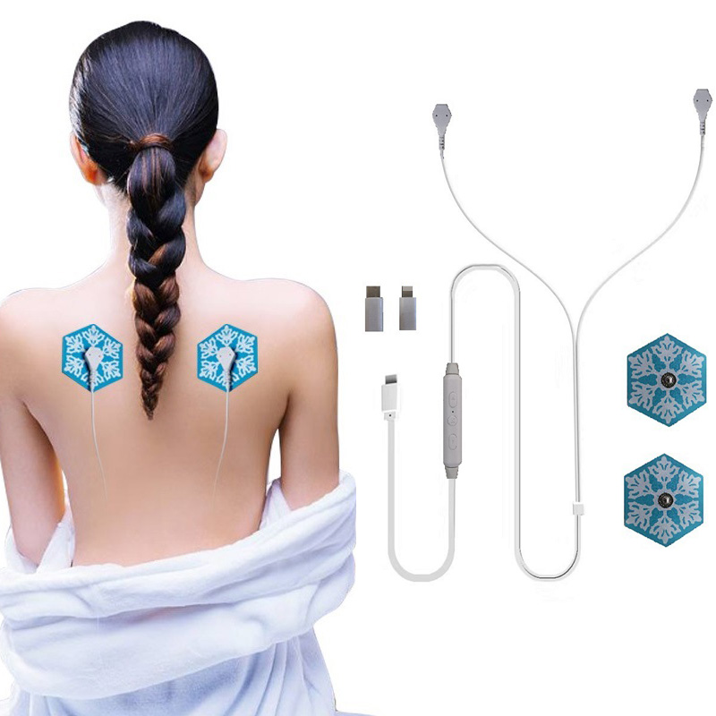 New smart mini mobile phone massager multi-function cervical vertebra body portable massager