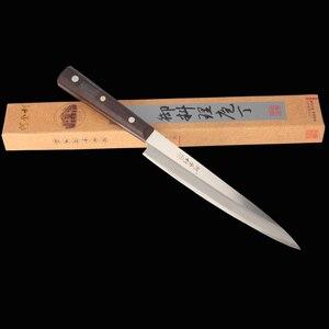 Image 5 - König Meer Sashimi Messer 5Cr15Mov Hohe Qualität Professionelle Fisch Filet Messer Lachs Sushi Messer Küche Küche Messer