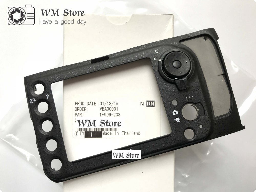 NEW For Nikon D800 D800E Back Cover Rear Base Shell Case 1F999 233 Camera Repair Spare