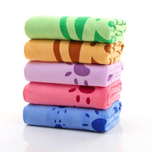 Free Shipping New Carton Microfiber Children Baby Bath Towel – 70×140 cm – Quick Dry Highly Absorbent Kids Beach Towel