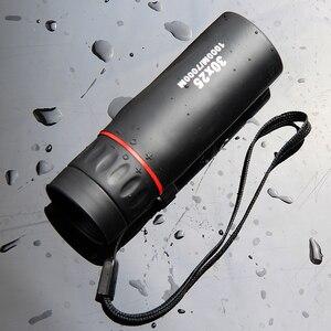 Image 2 - HD Optical 30 x 25 Monocular Zoom Telescope Low Night Vision Waterproof Mini Portable 7X Focus Telescope for Travel Hunting