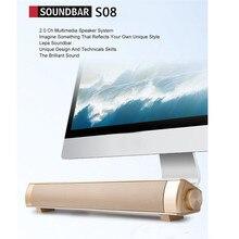 2018 new Portable speaker subwoofer speaker Stereo Sound Blaster Dual Speaker BT4.1 Speaker Sound System For TV Computer