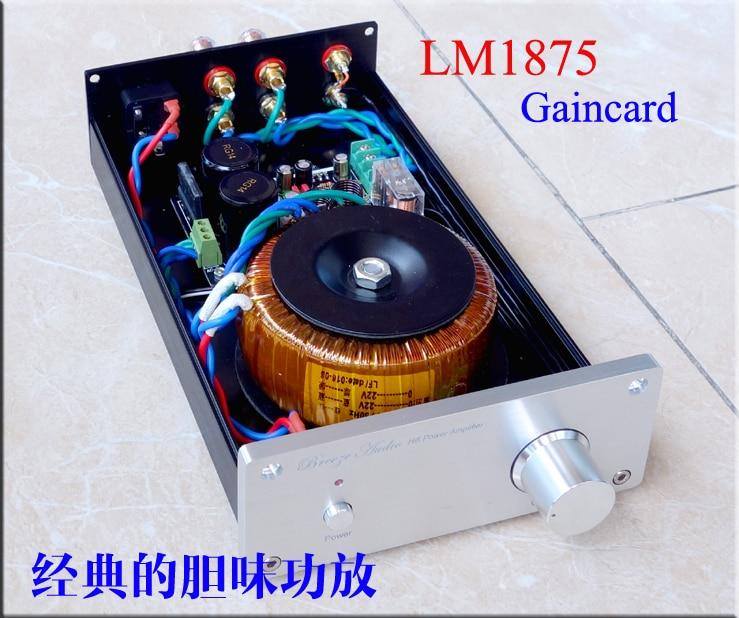 2017 New Nobsound LM1875 / LM3886 Stereo HiFi Power Amplifier Transistor Amp стоимость