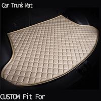 free shippingCustom fit car trunk mat for Audi A1 A4 A6 A7 A8 Q3 Q5 Q7 TT carpet cargo liner travel non slip for four season