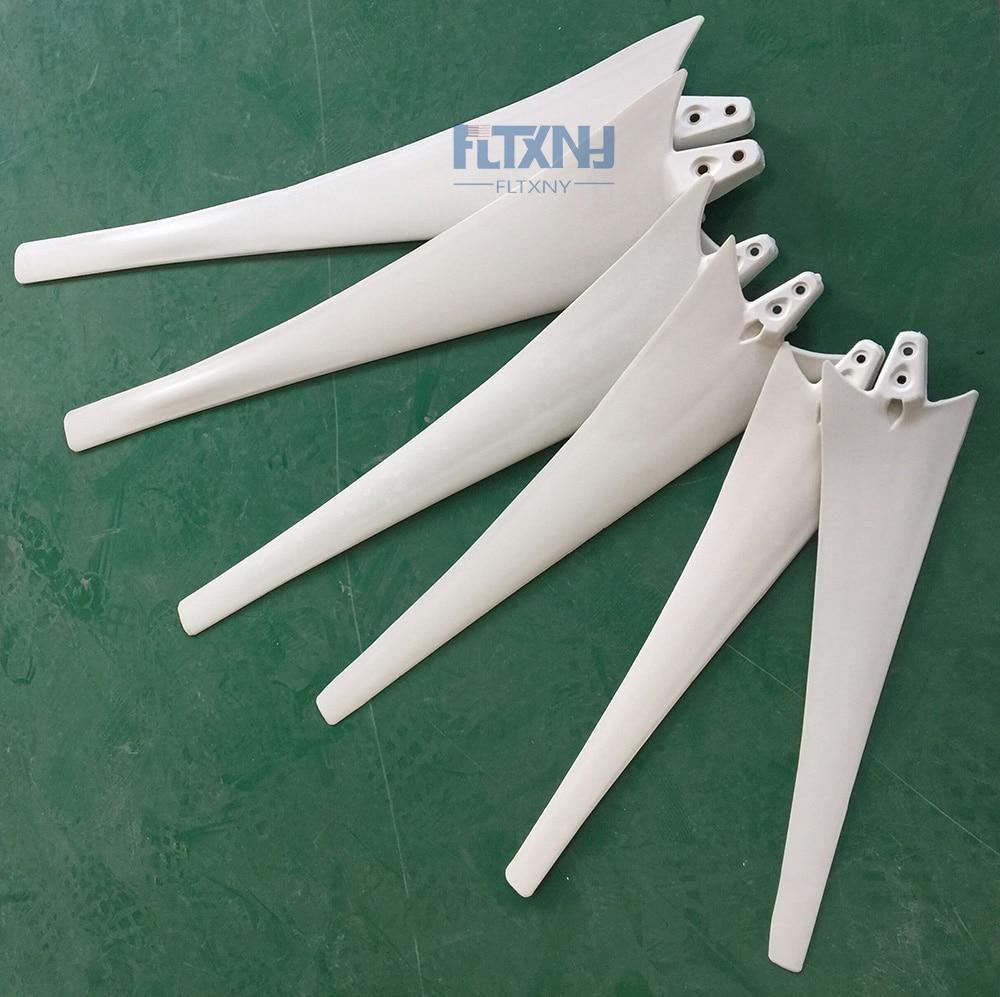 high strength carbon fibers blades for horizontal wind turbine 100w 200w 300w 400w 500w 600w DIY blades for wind generator цены