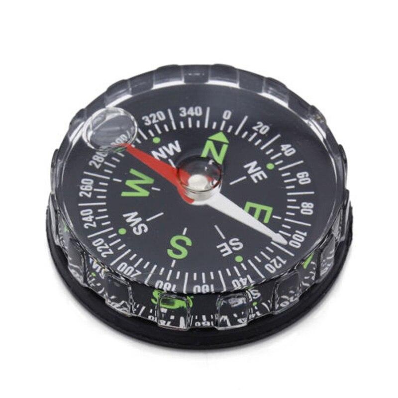 5pcs lot Mini Survival Liquid Filled Button Design Compass Derection for Climbing font b Hiking b