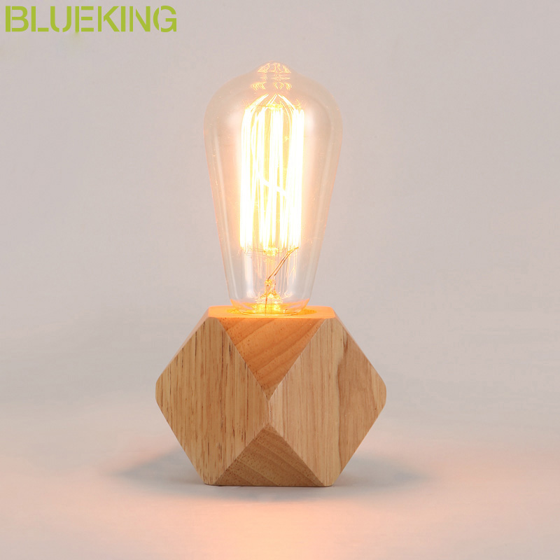 Modern wood Table Lamp Led Book Lights Desk Night Light E27 Holder Mini Retro Bedside Lamp La Lamparas For Home Bedroom Decor icoco usb rechargeable led magnetic foldable wooden book lamp night light desk lamp for christmas gift home decor s m l size