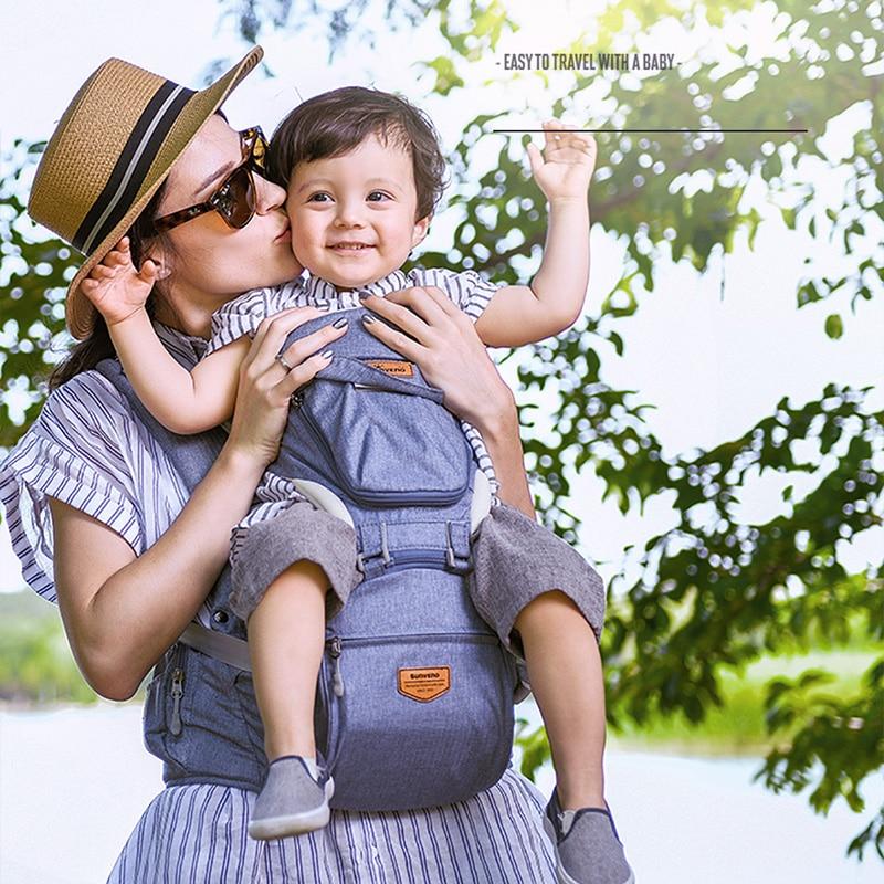 Sunveno portante di bambino zaino da viaggio ergonomico del bambino wrap anteriore carry imbracatura del bambino del bambino seggiolino da anca hipseat carrier anteriore di fronte kangaroo carri