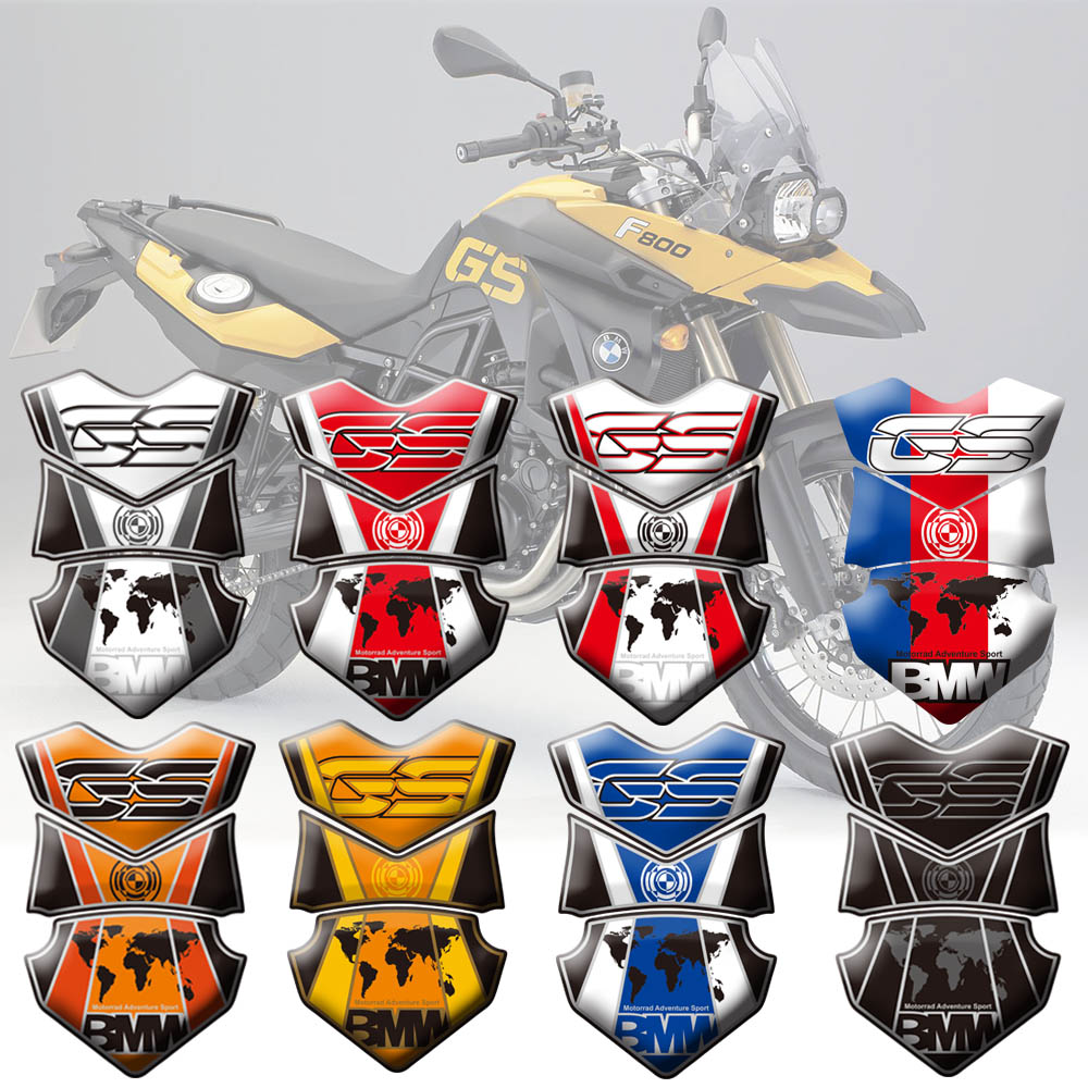 High Quality Motorcycle Tank Pad Protector Sticker Fish Bone Sticker For BMW F700GS 12-15 F650GS F800GS 08-12