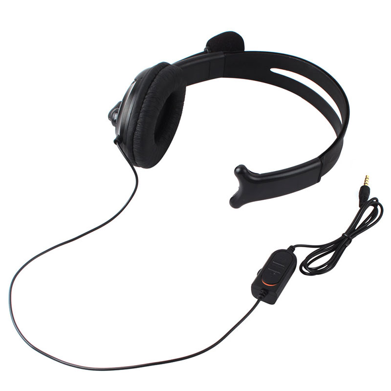 Broadcaster Live Gaming Headset Headphone MIC Volume Control for PS4 One Side #52670 quicktime toolkit volume one