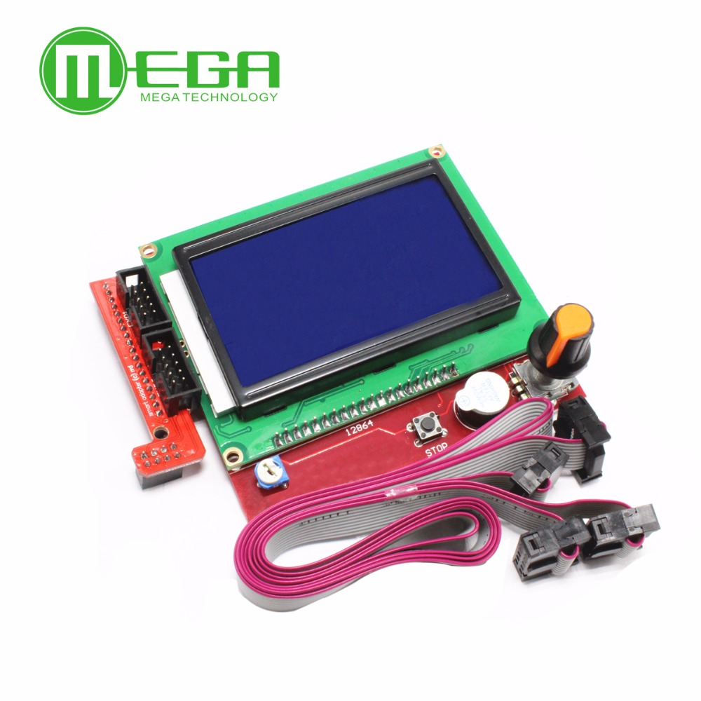 Back To Search Resultselectronic Components & Supplies 3d Printer Smart Controller Ramps1.4 Lcd 12864 Lcd Control Panel