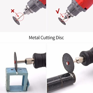 Image 2 - GOXAWEE Rotary Tools Abrasive For Dremel Electric Drill Wood Metal Engraving Cutting Grinding Carving Polishing Accessories