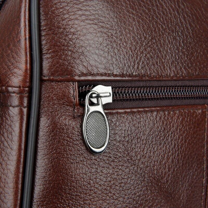 de couro homens ombro homensageiro Estilo : Fashion, casual, Business